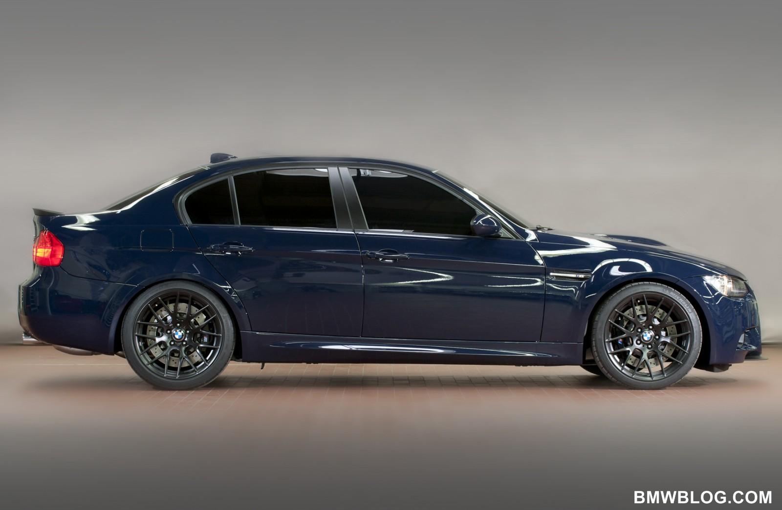 BMW M3 Lightweight to be called M3 Sedan GTS - 440 hp