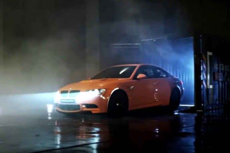 BMW M3 Tiger Edition Video 750x500