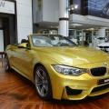 BMW M4 Cabrio Austin Yellow F83 Live Fotos Abu Dhabi 01 120x120