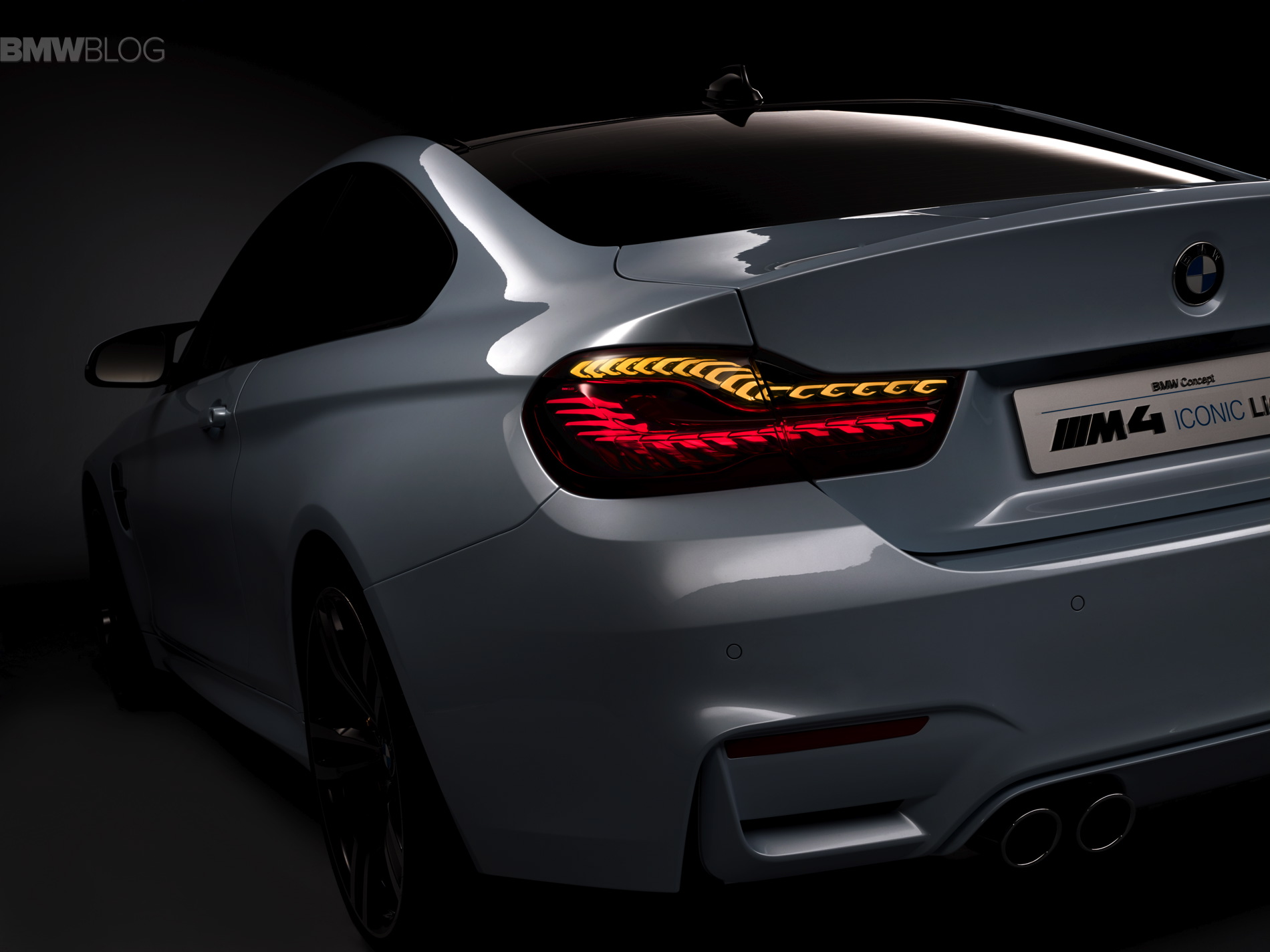 BMW M4 Concept Iconic Lights images 08