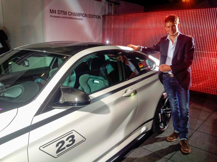 BMW M4 DTM Champion Edition 2014 Marco Wittmann Sondermodell 08 750x562