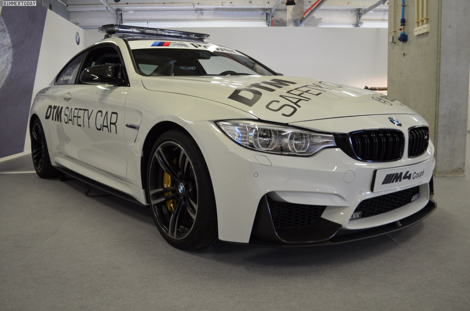 A Closer Look At The Bmw M4 Dtm Safety Car