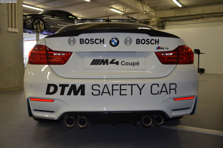 BMW M4 DTM Safety Car 2014 F82 Detail Fotos 08 750x500