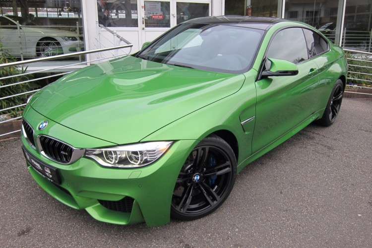 BMW M4 in Java Green - Photo Gallery
