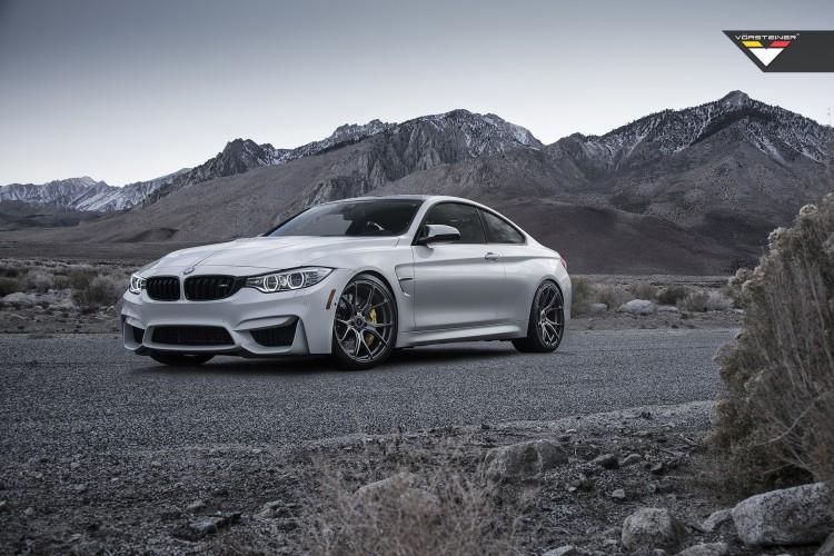 BMW M4 With Vorsteiner FlowForged V FF 103 Wheels 1 750x500