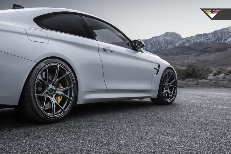BMW M4 With Vorsteiner FlowForged V FF 103 Wheels 5 750x500