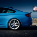BMW M4 with HRE P101 in Brushed Ice By Linhbergh