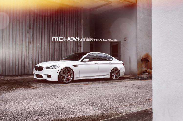 BMW M5 F10 ADV5 MV2 Wheels 2 750x498