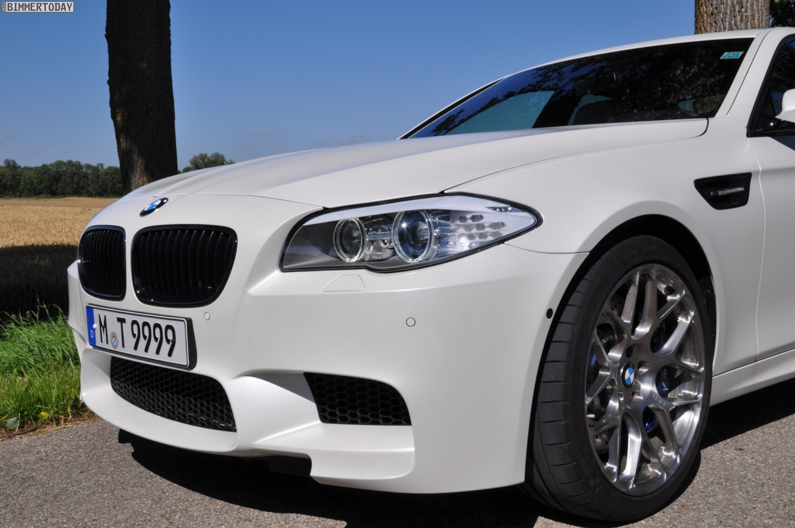 Photo Gallery F10 Bmw M5 Frozen White