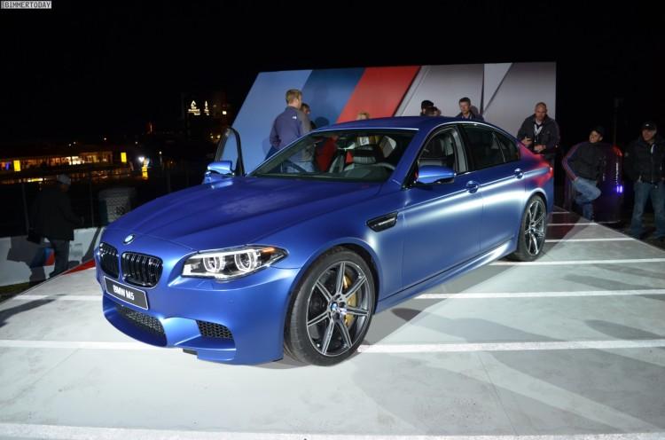 BMW M5 F10 LCI Frozen Blue Competition Paket 2013 05 750x496