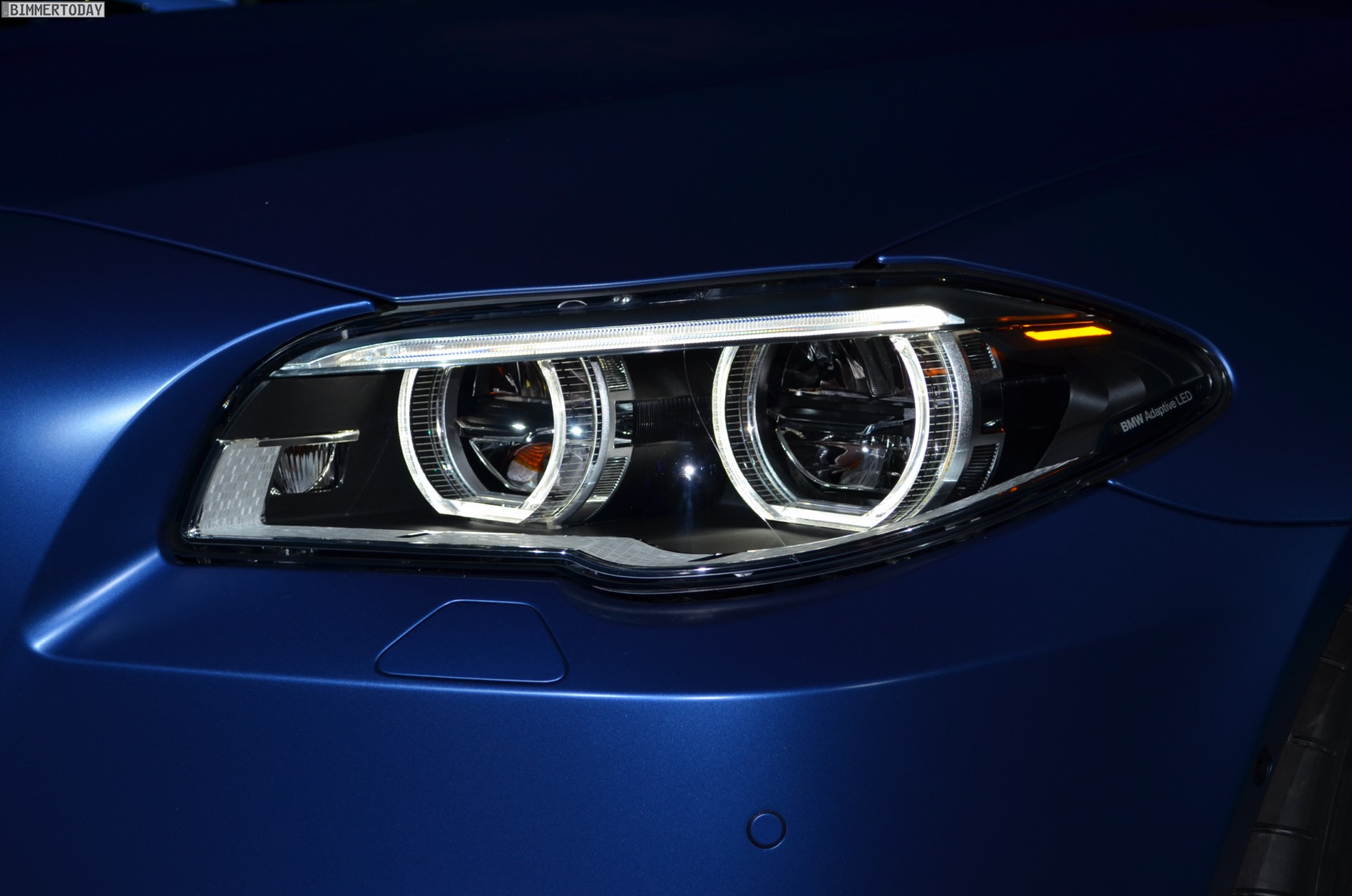 Bmw M5 Facelift With 575 Hp Makes Debut At 2013 M Festival