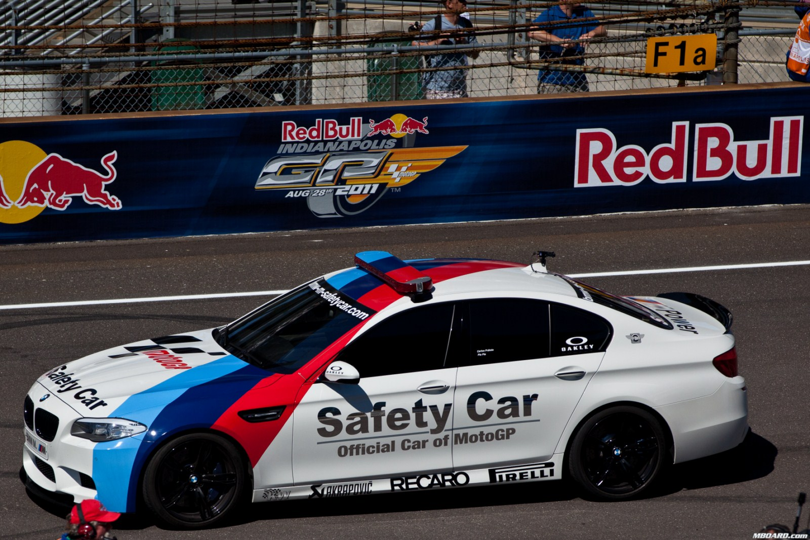 Photos & Videos: 2012 BMW M5 Safety Car with Akrapovic Exhaust System