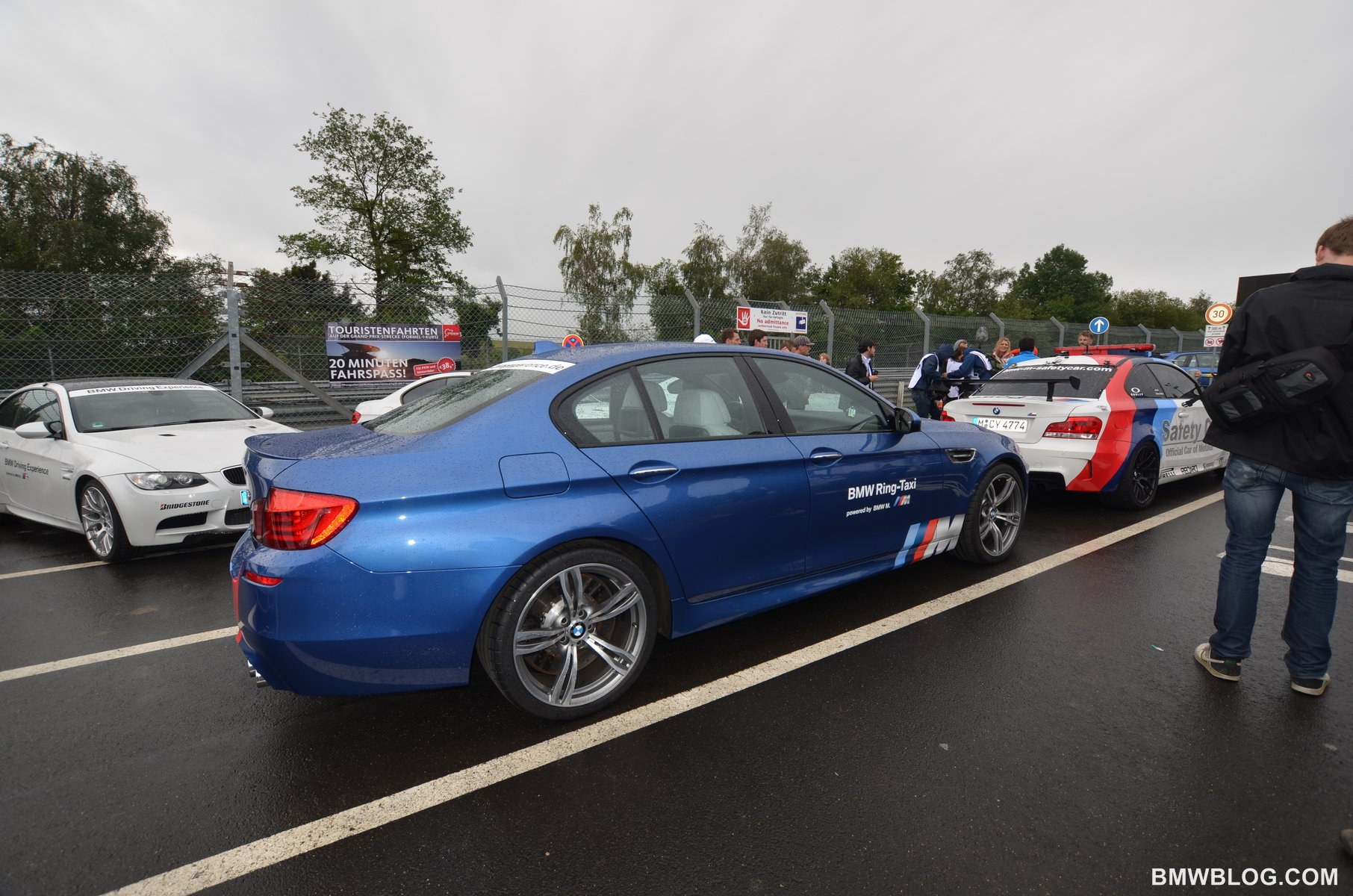 BMW M5 F10 Ring Taxi 25