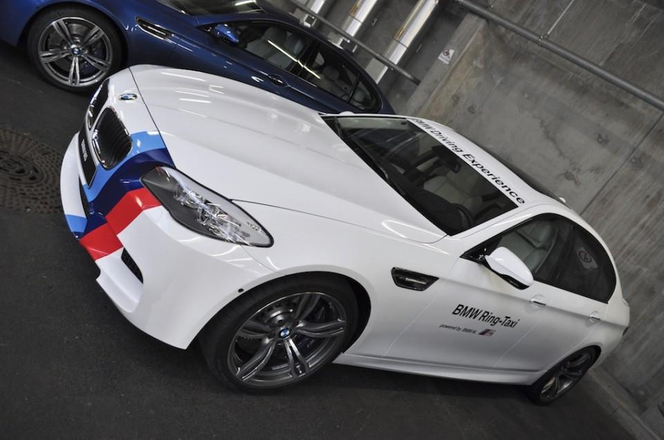 BMW M5 F10 Ringtaxi 2012