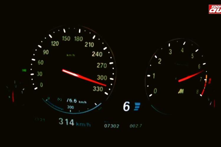 BMW M5 F10 Tachovideo 0 300 sport auto 750x500