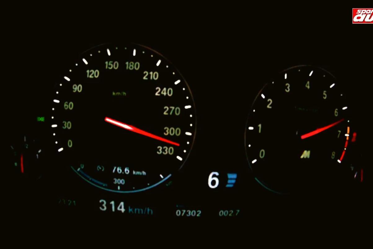BMW M5 F10 Tachovideo 0 300 sport auto