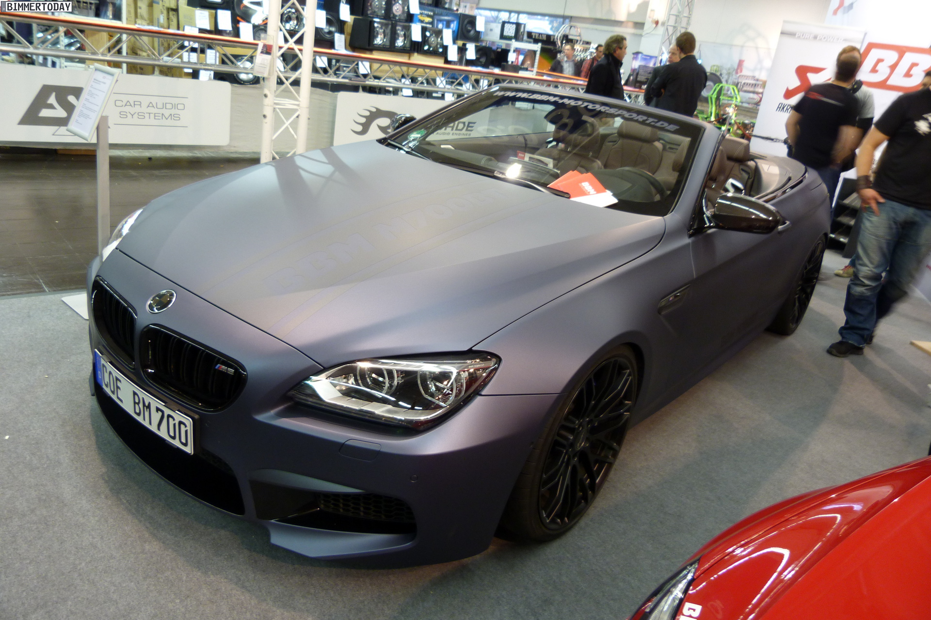 2013 Essen Motor Show Bbm Bmw M6 Convertible With Power