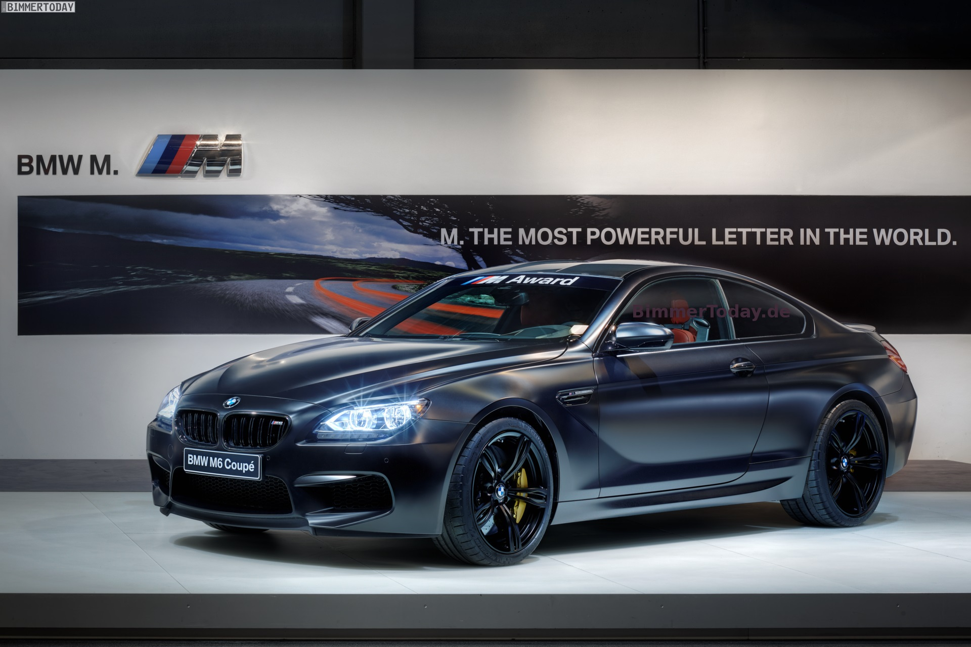 2013 Bmw M Award Bmw M6 Coupe Frozen Black For Best Motogp Qualifier