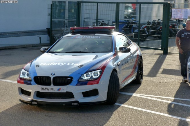 BMW M6 F13 MotoGP Safety Car 2012 Sachsenring 18 655x436