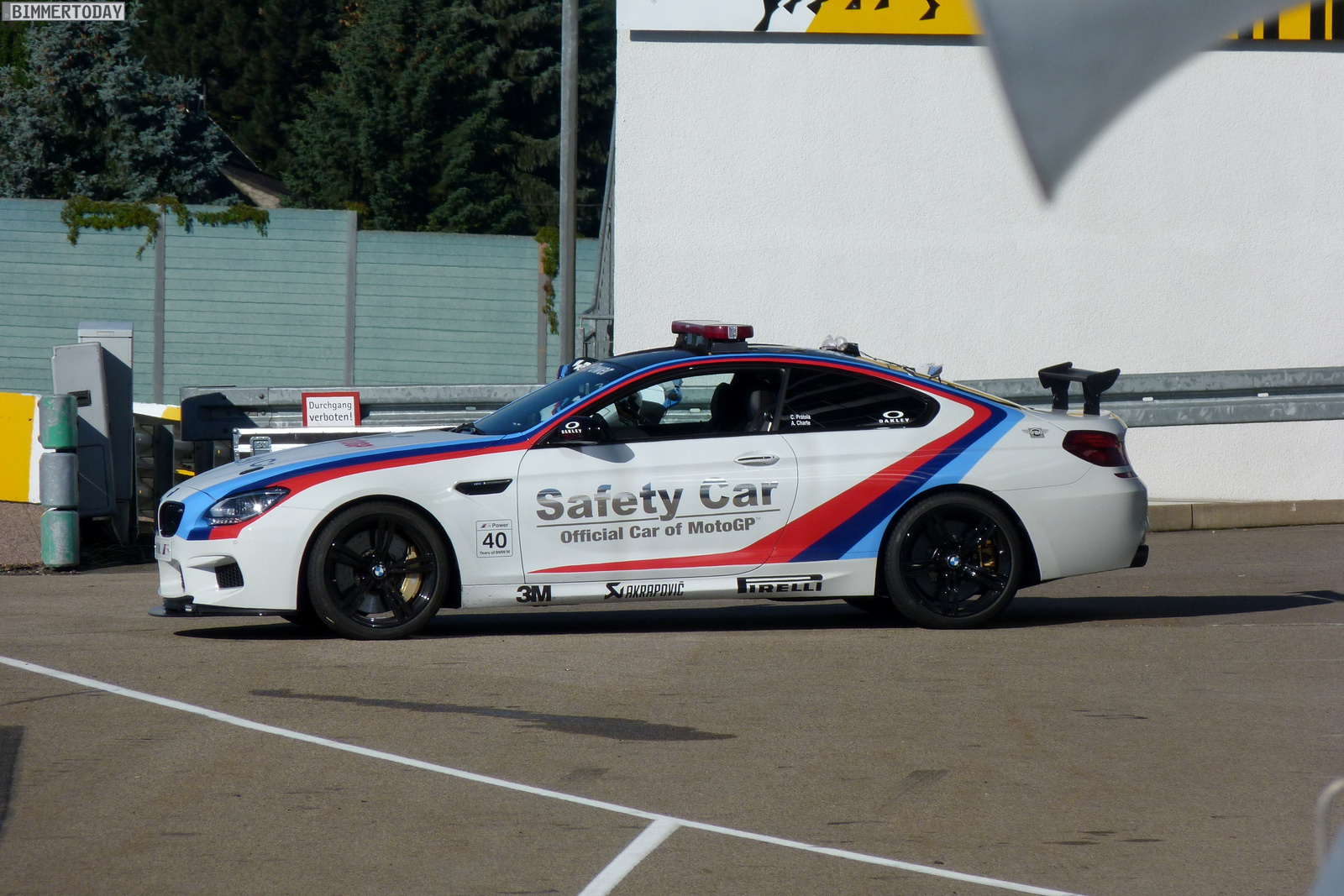 BMW M6 F13 MotoGP Safety Car 2012 Sachsenring 20