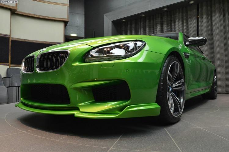 BMW M6 Gran Coupe Java Gruen Tuning F06 Kelleners Manhart 04 750x500