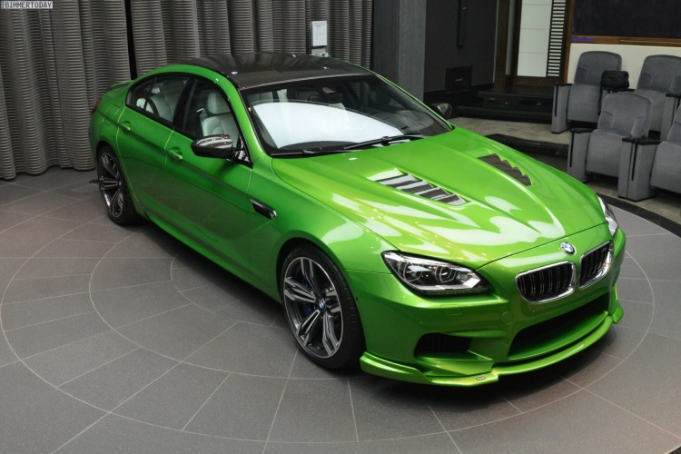BMW M6 Gran Coupe Java Gruen Tuning F06 Kelleners Manhart 11 750x500