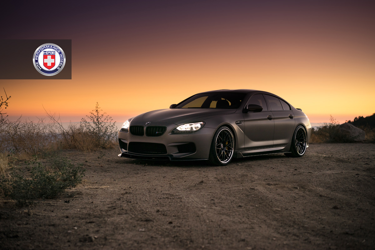 BMW M6GC with HRE RS100 in Brushed Smoke 1