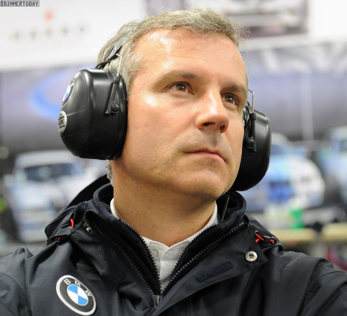 BMW Motorsport Jens Marquardt Kundensport 2012