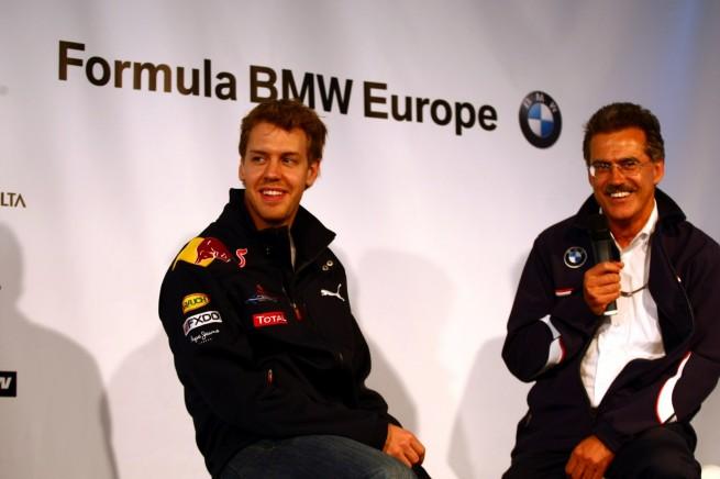 BMW Motorsport Sebastian Vettel Mario Theissen 655x436