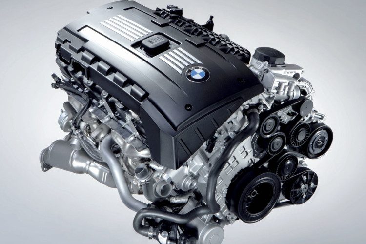BMW N54 twin turbo I6 750x500