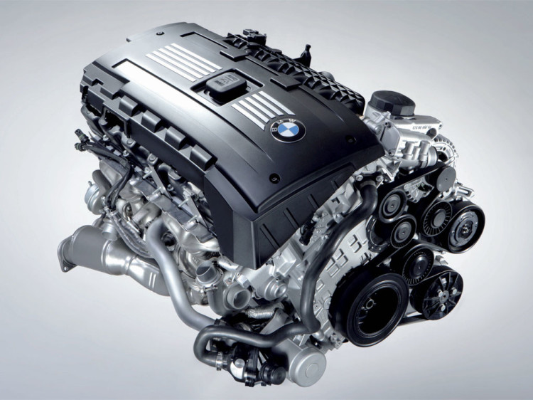 BMW N54 twin turbo I6 750x562