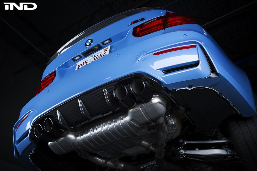 BMW Performance F8X M4 diffuser 22