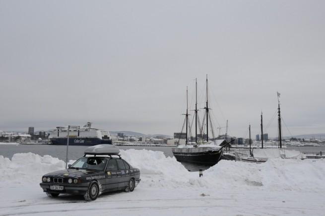 BMW Seria 5 Expeditie Polul Nord 10