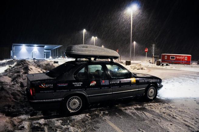 BMW Seria 5 Expeditie Polul Nord 26