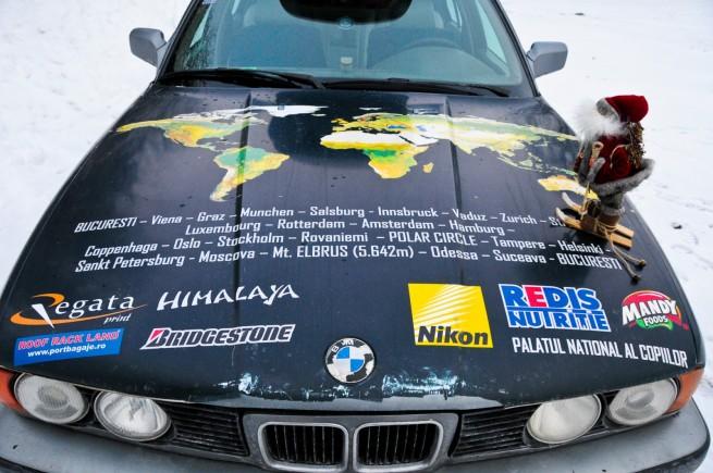 BMW Seria 5 Expeditie Polul Nord 29