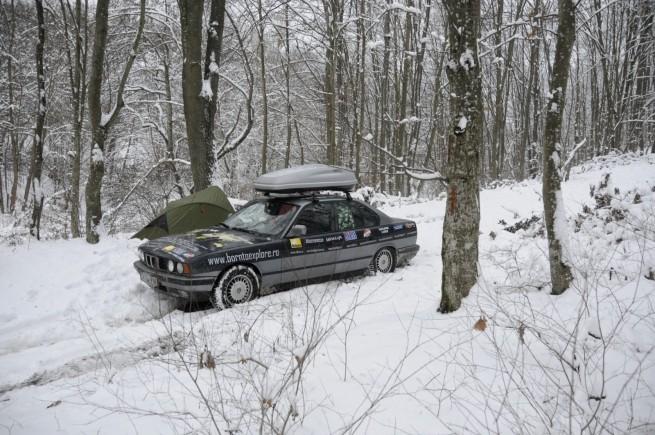 BMW Seria 5 Expeditie Polul Nord 39