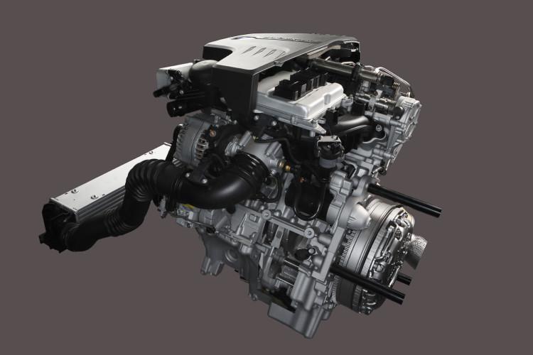BMW TwinPower Turbo four cylinder petrol engine 750x500