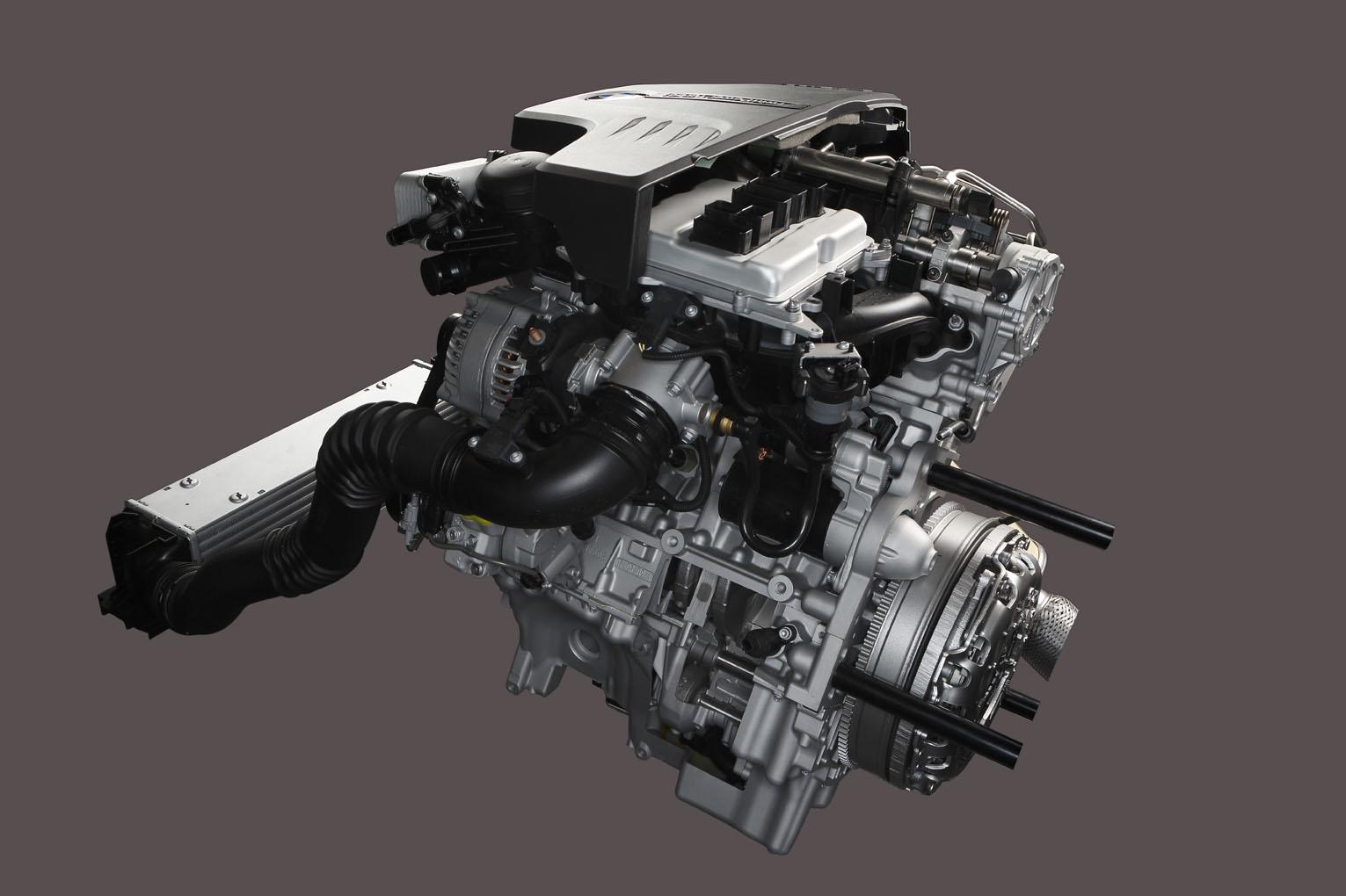 BMW TwinPower Turbo four cylinder petrol engine