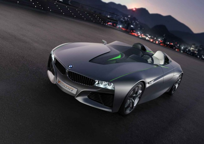 BMW Vision ConnectedDrive Concept Car Genf 2011 08 655x463