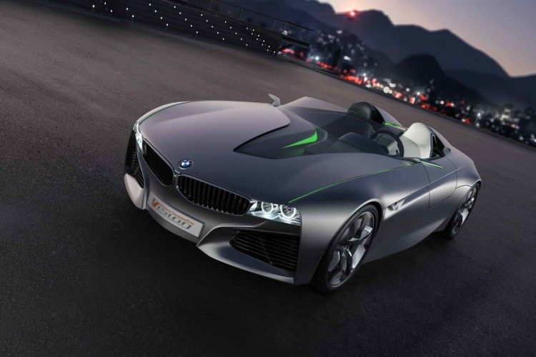 BMW Vision ConnectedDrive Concept Car Genf 2011 081 750x500