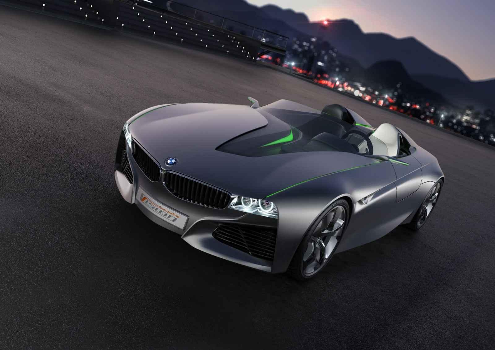 BMW Vision ConnectedDrive Concept Car Genf 2011 081