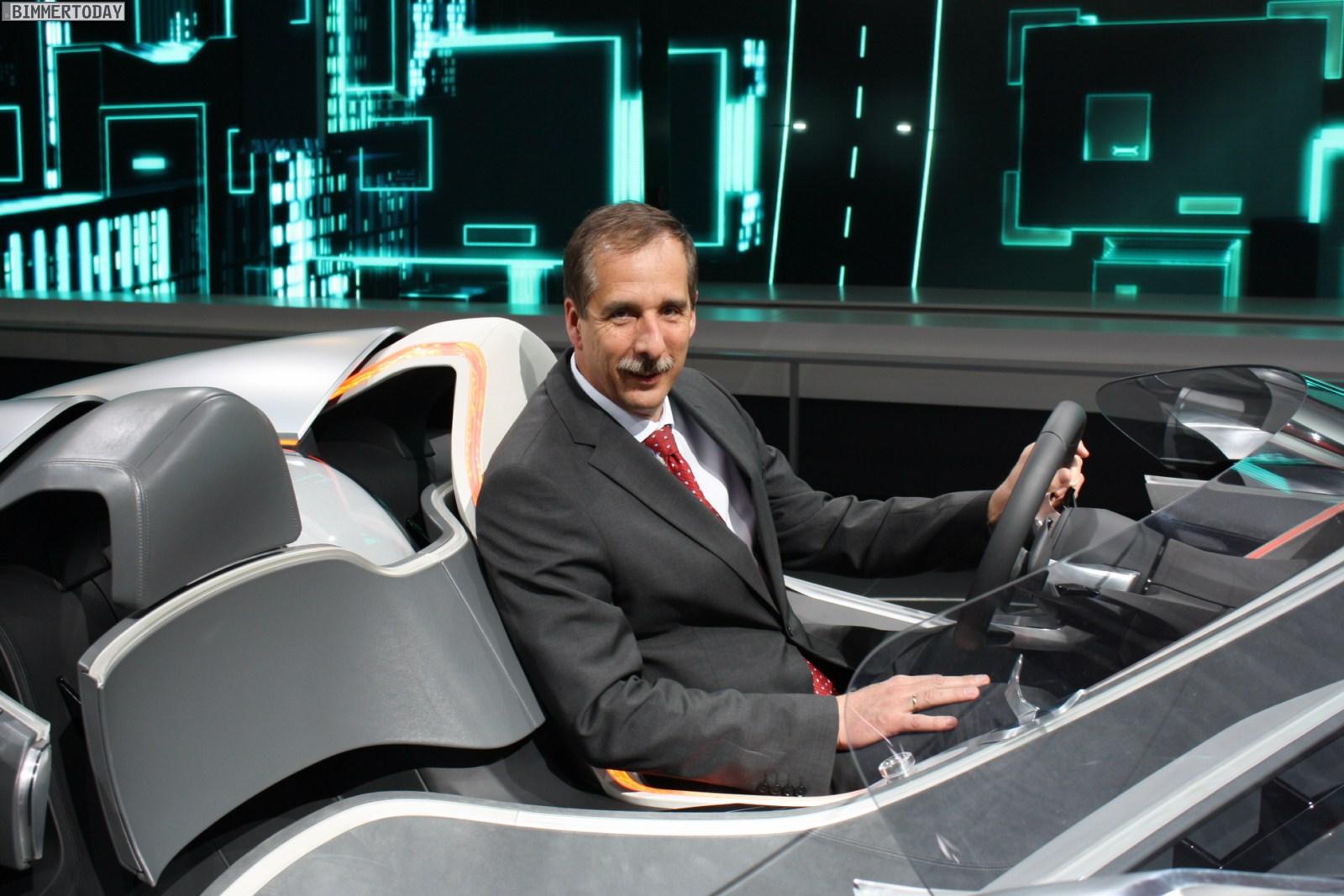 BMW Vision ConnectedDrive Dr Klaus Draeger