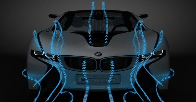 BMW-Vision-EfficientDynamics air flow