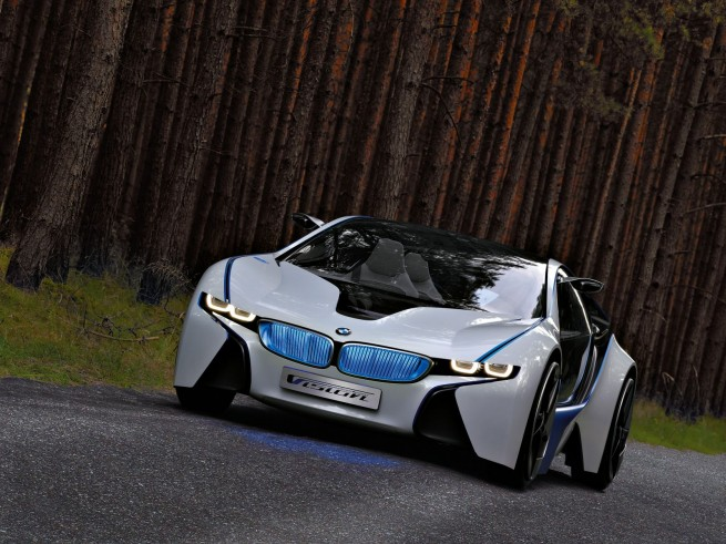 BMW Vision EfficientDynamics Concept 262 655x491