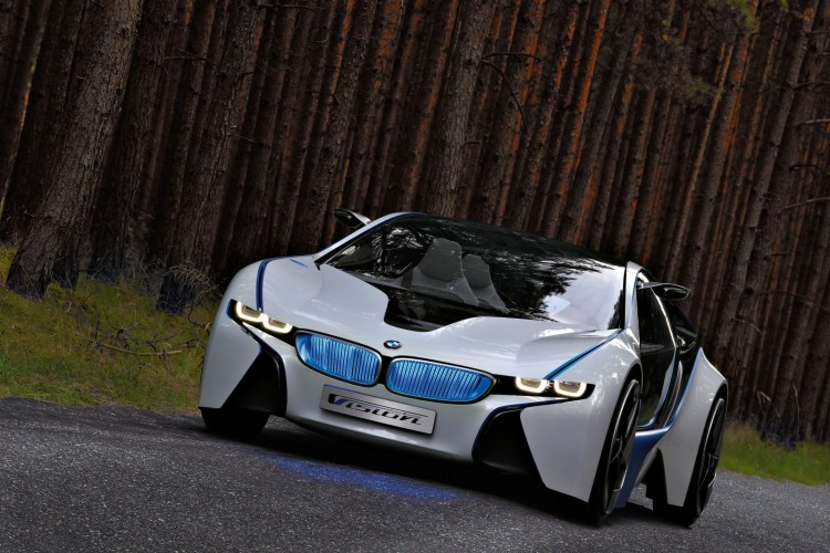 BMW Vision EfficientDynamics Concept 262 750x500