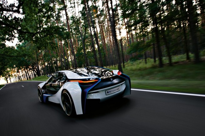 BMW Vision EfficientDynamics Concept 391 655x436