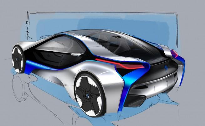BMW Vision EfficientDynamics Concept 671 655x403