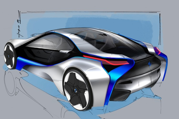 BMW Vision EfficientDynamics Concept 671 750x500