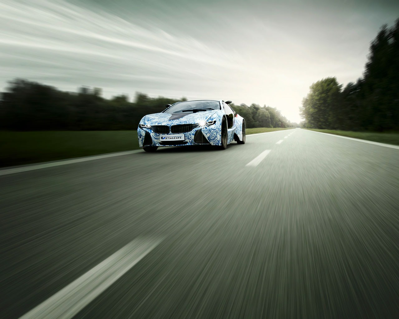 BMW Vision EfficientDynamics Wallpaper 06