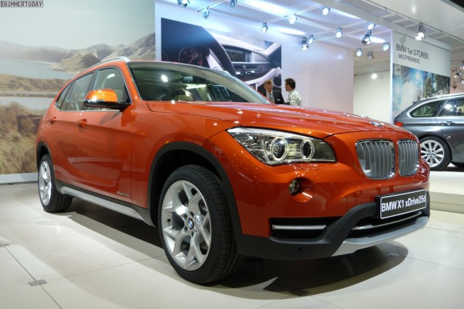 BMW X1 Facelift E84 LCI AMI Leipzig 2012 08 655x436